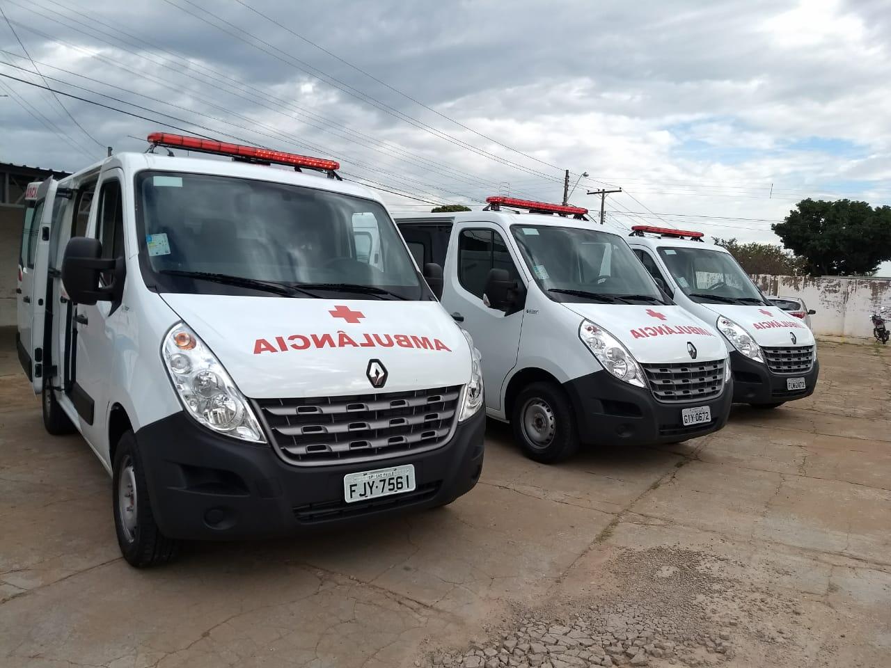 Saúde: São Manuel recebe novas ambulâncias