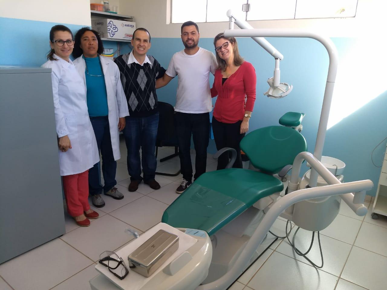 Dentista volta a atender a população do Jardim Santa Mônica