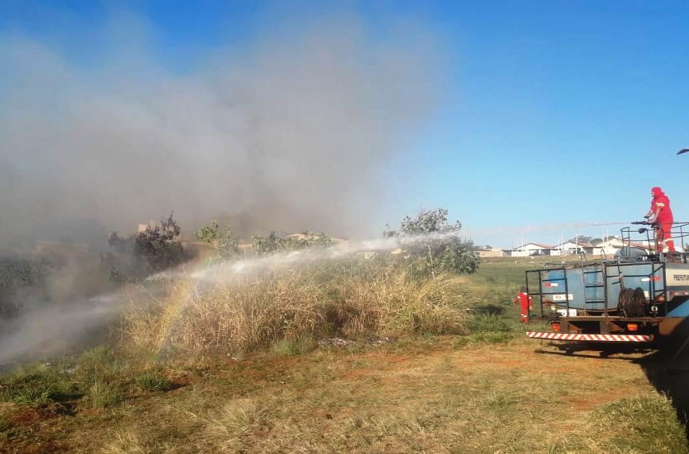 Incêndio em São Manuel tomou grandes proporções por descuido de proprietários