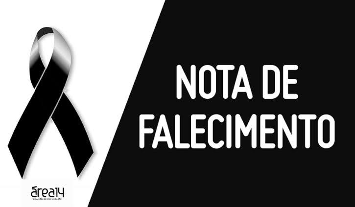 Nota de falecimento Emilia da Silva Madoglio