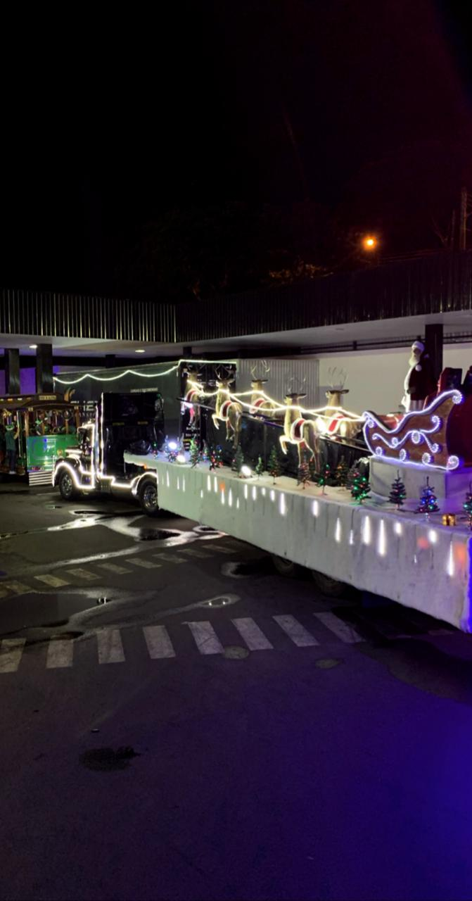 Carreata do Papai Noel acontece hoje em São Manuel