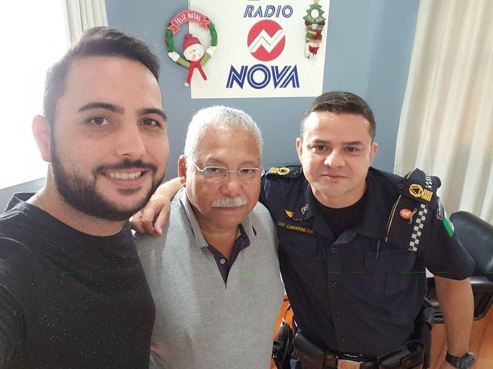 20 minutos falando da segurança de São Manuel