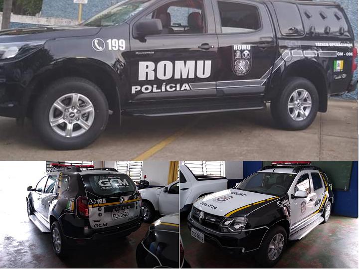 Segurança: Salaro entrega terceira viatura 0km a GCM