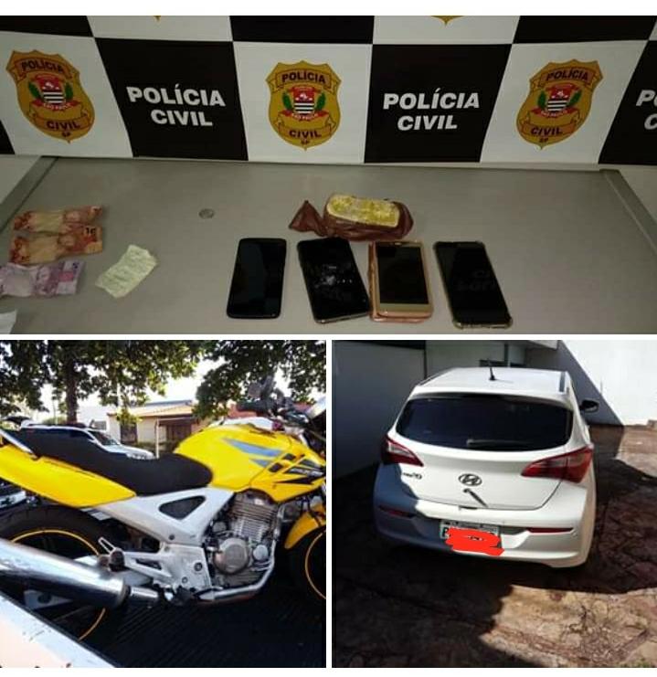 Polícia Civil de São Manuel apreende lança perfume, crack e R$ 5 mil