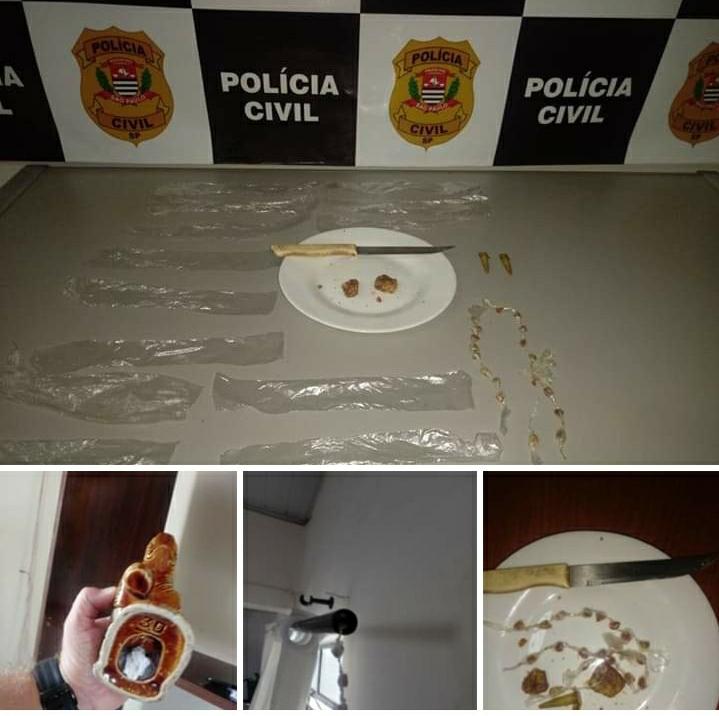 Homem é detido embalando droga no Cecap em São Manuel