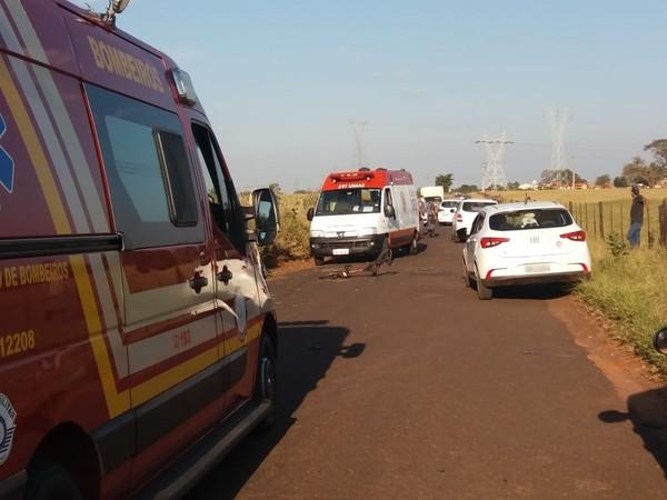 Adolescente morre após ser atropelado por carro em estrada de Avaré