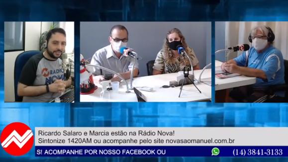 Ricardo Salaro e Márcia dão a primeira entrevista após a eleição!