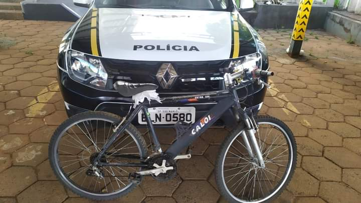 GCM recupera bicicleta furtada no centro de São Manuel