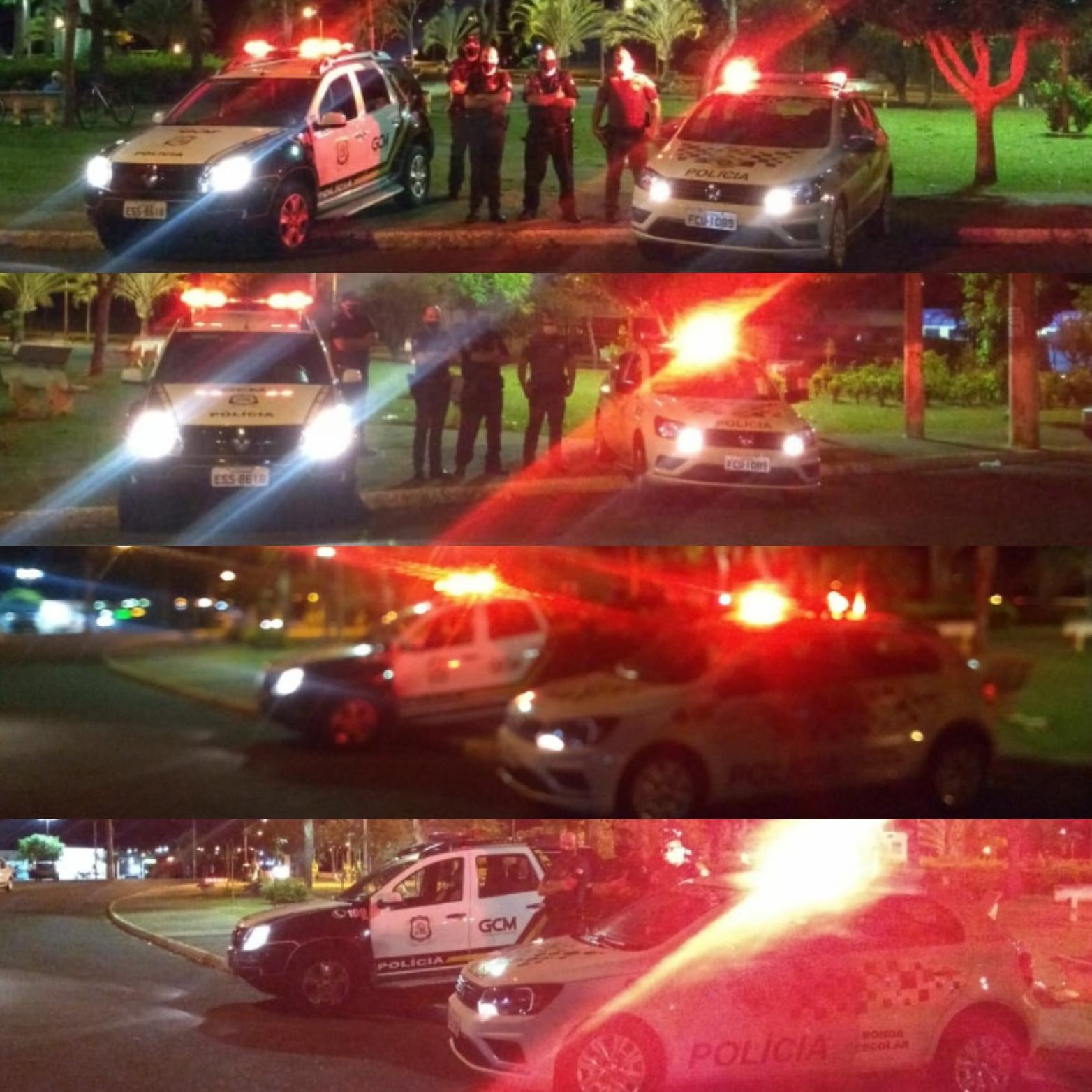 Operação integrada adia festa para 200 pessoas em Aparecida de São Manuel