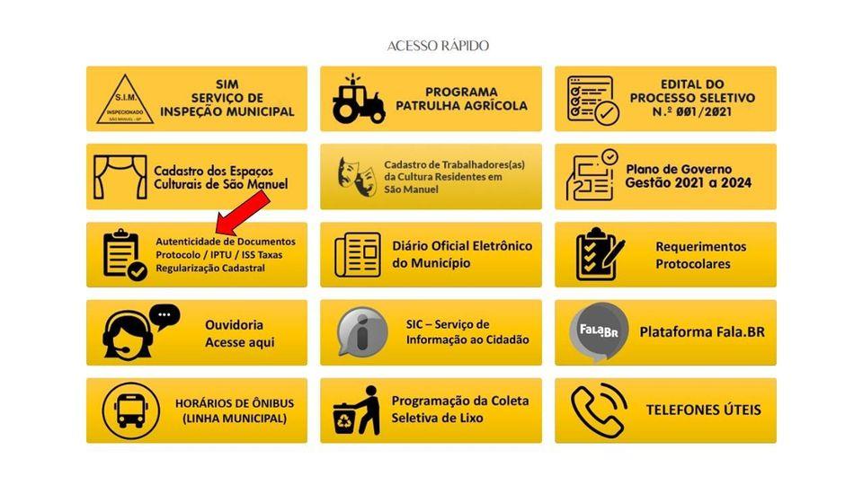Prefeitura de São Manuel disponibiliza certidões através de seu site