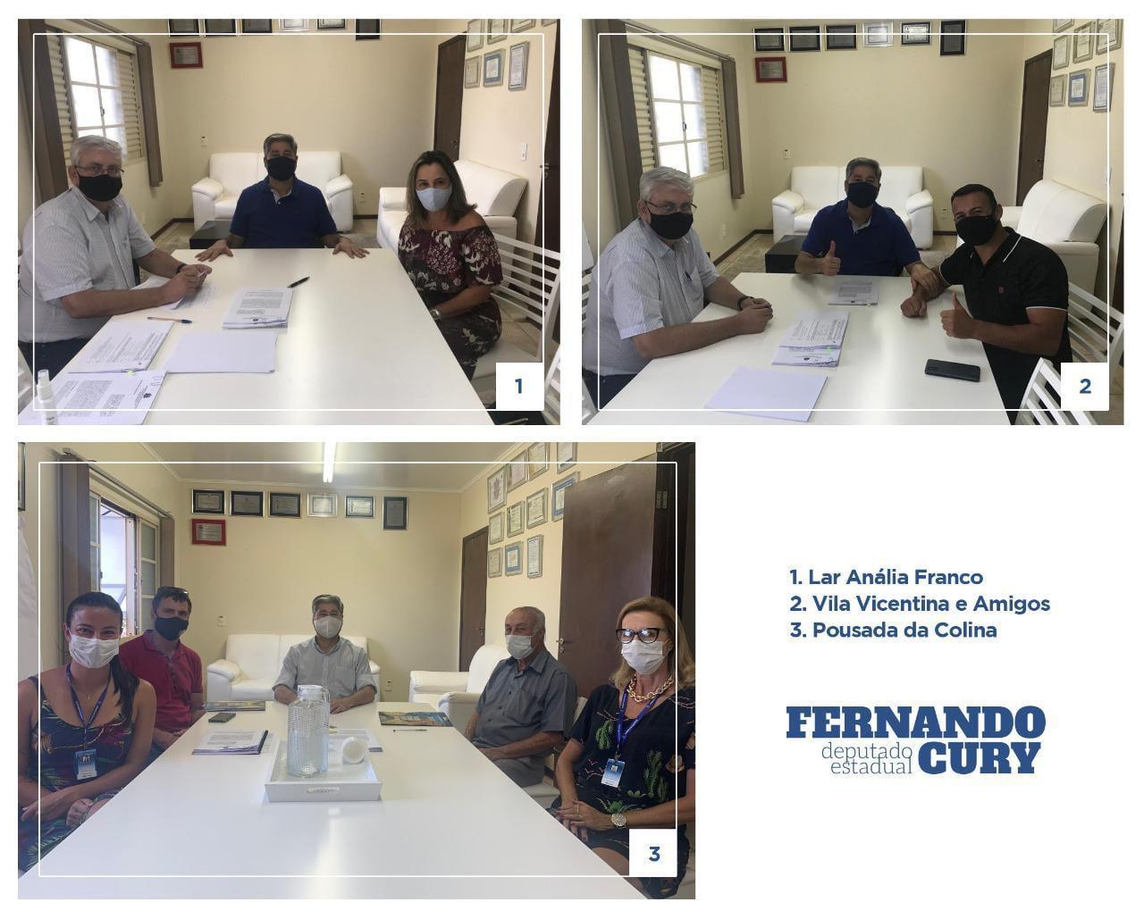 Cury destina mais R$ 150 mil para entidades de São Manuel