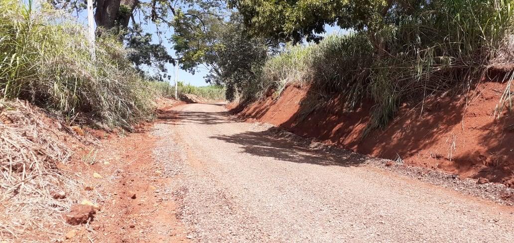 Moradores aprovam melhorias na antiga estrada da Pedreira