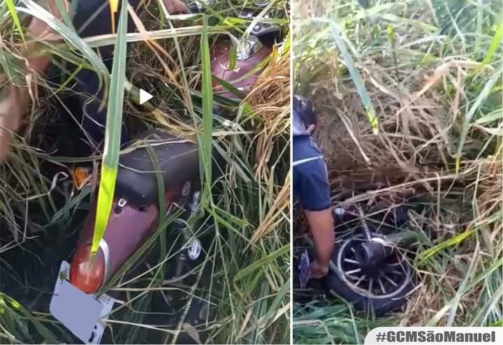 GCM de São Manuel é ágil e recupera moto furtada no bairro da Conquista