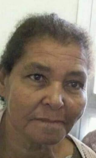 Nota de falecimento Aparecida Brandão de Oliveira