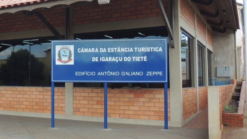Confira o que entrou em pauta na na Câmara Municipal de Igaraçu do Tiete