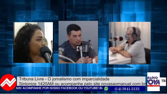 Capitão Cunha vê com preocupação aumento de acidentes envolvendo motos