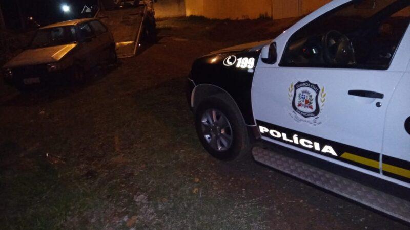 Veículo furtado em Botucatu é encontrado abandonado na São Geraldo