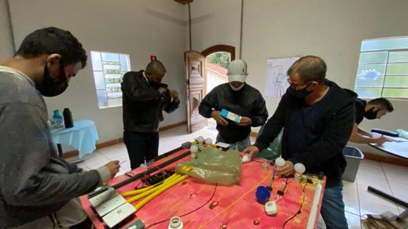 Pratânia oferece curso de eletricista para instalações de baixa tensão
