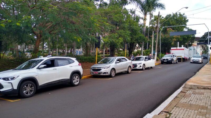 São Manuel muda ponto de taxi para revitalizar área central