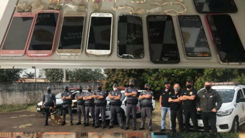 Forças de segurança prendem 05 em Areiópolis e muita droga!