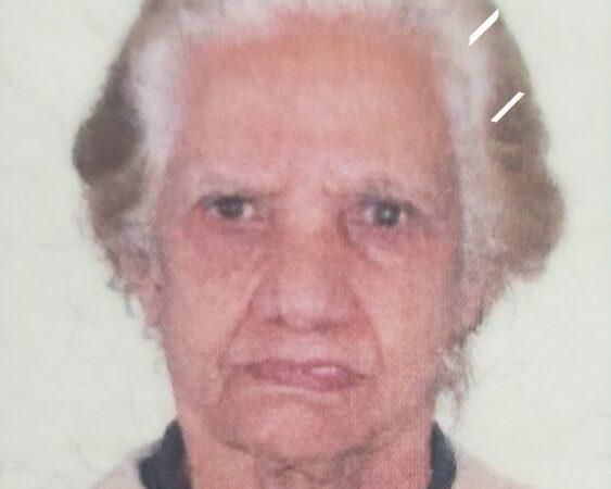 Nota de falecimento Rosalina Paes Faioli