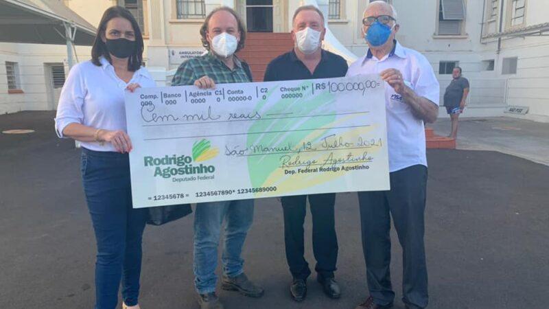 Rodrigo Agostinho destina recursos para o Hospital e Diretoria de Saúde do município