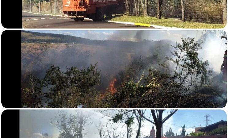 Incêndio assusta moradores do residencial Inocenti