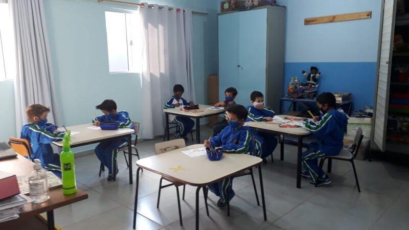 São Manuel tem grande adesão na volta as aulas presenciais