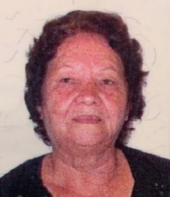 Nota de falecimento Luiza Ribeiro Manoel
