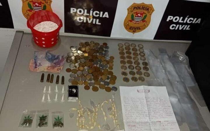 São Manuel: Polícia encontra cocaína mais potente em casa de integrante de facção criminosa