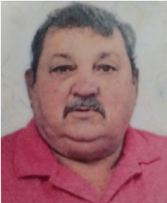 Nota de falecimento Aparecido José dos Santos