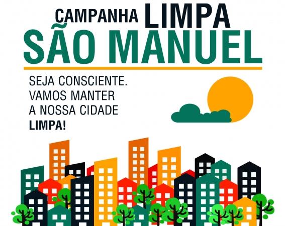 São Manuel inicia campanha para limpeza da cidade