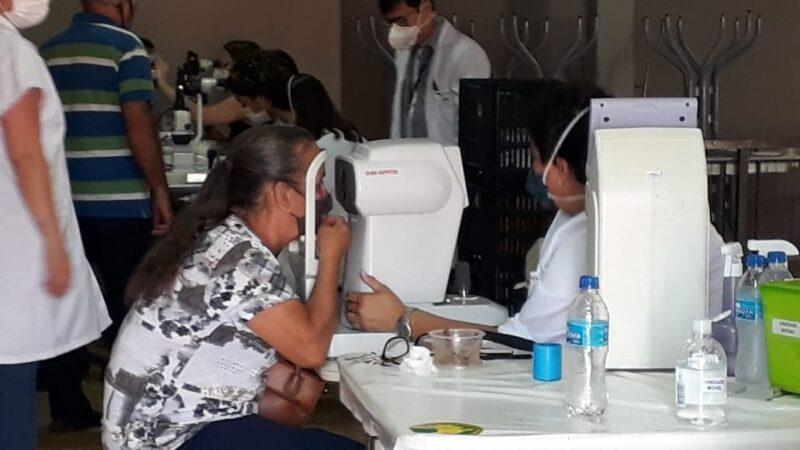 Barra Bonita atende 100 pessoas em mutirão oftalmológico